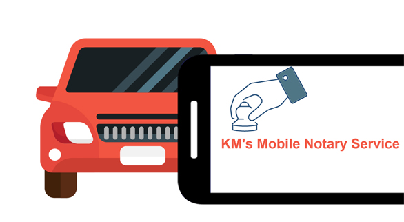 KM's Mobile Notary Service, Traveling Notary Services Los