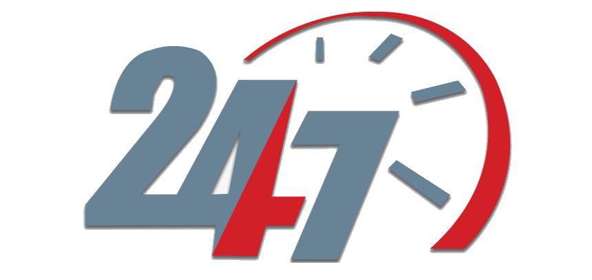 24×7 services